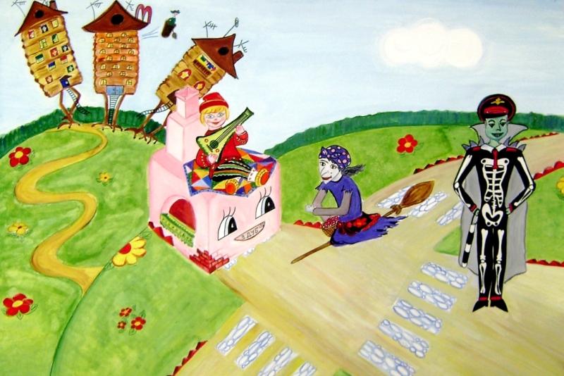 Конкурс рисунков русских сказок